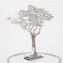 Dekobaum, Baum aus Aluminium als Dekoration, Höhe 59 cm