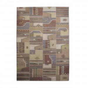 Teppich, vintage beige-rot, Größe 170 x 240 cm