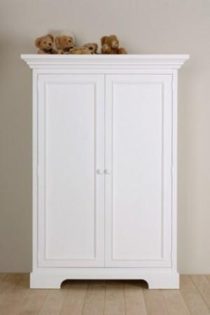 Kleiderschrank weiß, Schrank weiß Breite 120 cm