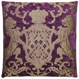 Dekokissen, Kissen, Farbe purple, Größe 55 x 55 cm