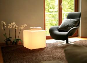 Leuchtender Cube-Indoor von Moree