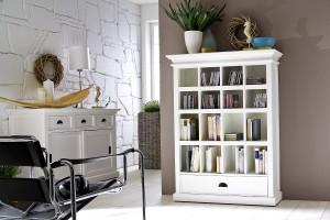 Bücherregal Landhausstil bücherregal im landhausstil romantik für zuhause bei richhome