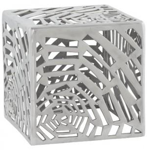 Design Couchtisch in Aluminium