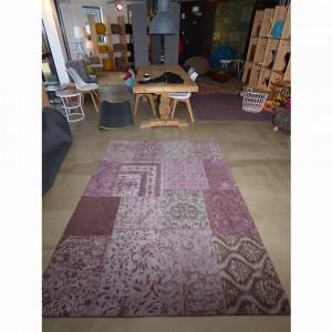 Teppich Patchwork Bordeaux, Größe 200 x 300 cm
