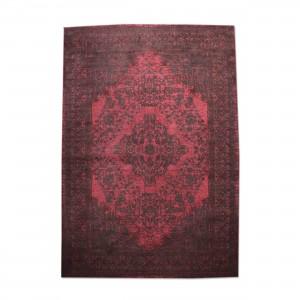 Teppich Ornament Farbe Rot, Größe 170 x 240 cm