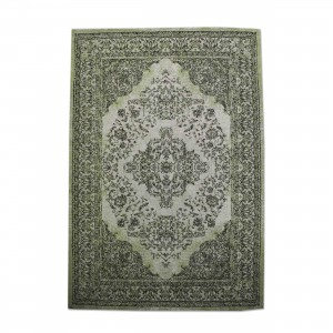 Teppich Ornament Farbe Grün, Größe 170 x 240 cm