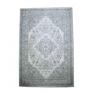 Teppich Ornament Farbe Grau, Größe 170 x 240 cm