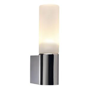 LED Moderne Badwandleuchte, Farbe chrom, Ø 10,7 cm