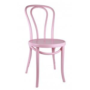 Gastro-Stuhl Metall in elf Farben, Stuhl rosa