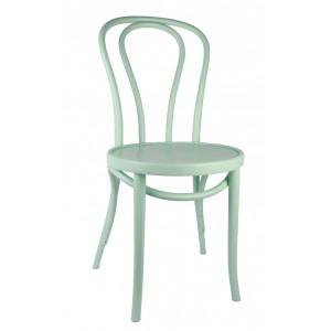 Gastro-Stuhl Metall in elf Farben, Stuhl türkis