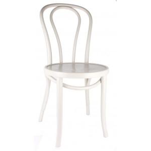 Gastro-Stuhl Metall in elf Farben, Stuhl weiß