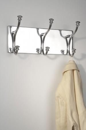 Garderobe Landhaus silber