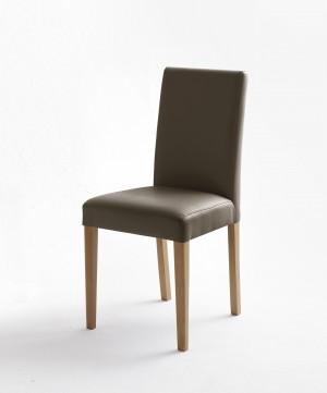 Stuhl gepolstert, Stuhl mit PU Stoff bezogen