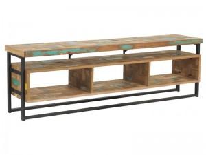 TV Schrank im Industriedesign, Lowboard, Breite 150 cm