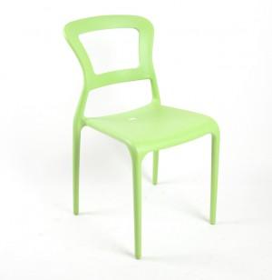 Gartenstuhl, Stuhl Kunststoff grün, Outdoor Möbel