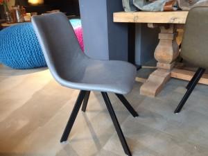 Stuhl gepolstert Kunstleder, Stuhl in vier Farben