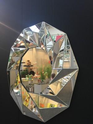 Spiegel rund,  Wandspiegel rund, Durchmesser 100 cm