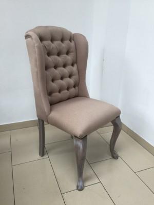 Stuhl gepolstert in verschiedenen Farben, Stuhl mit Ring chesterfield