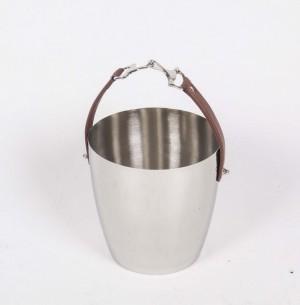 Sektkühler, Weinkühler verchromt, Ø 20,5 cm