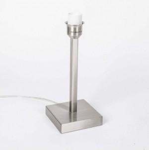 Lampenfuß für eine Tischleuchte, satiniert, Höhe 33 cm
