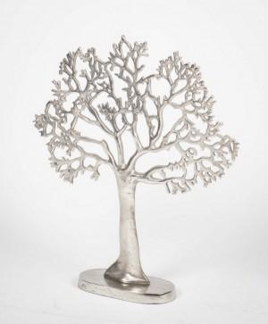 Dekobaum, Baum aus Aluminium als Dekoration, Höhe 60 cm