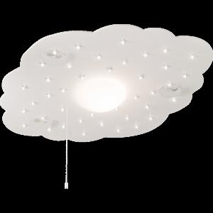Kinder Deckenleuchte, LED,  Farbe Silber