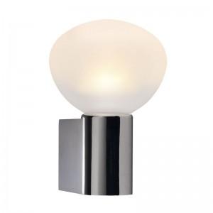 LED Moderne Badwandleuchte, Farbe chrom, weiß, Ø 18,7 cm