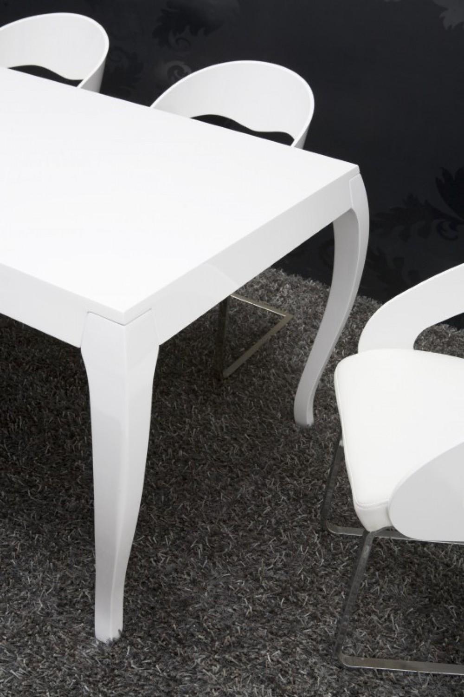 moderner tisch wei esstisch barock schichtholz wei. Black Bedroom Furniture Sets. Home Design Ideas