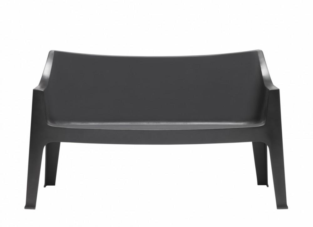 gartenbank aus kunststoff farbe anthrazit bank aus kunstoff outdoor. Black Bedroom Furniture Sets. Home Design Ideas