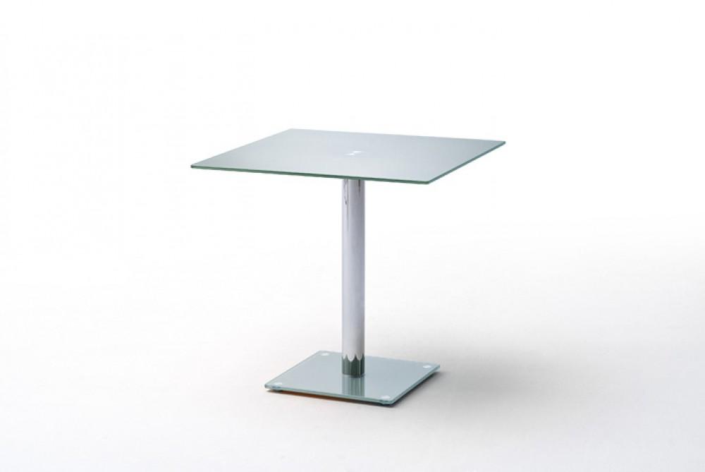 glastisch quadratisch bistrotisch glasplatte ma e 80 x 80 cm. Black Bedroom Furniture Sets. Home Design Ideas