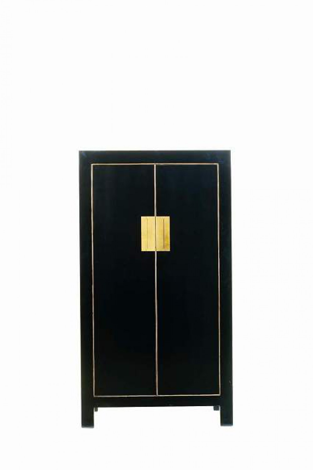 China-Schrank mit zwei Türen in drei Farben