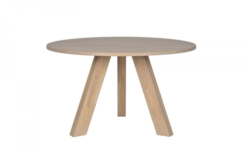 couchtisch rund eiche geolt tisch rund massivholz esstisch rund eiche massiv durchmesser 129
