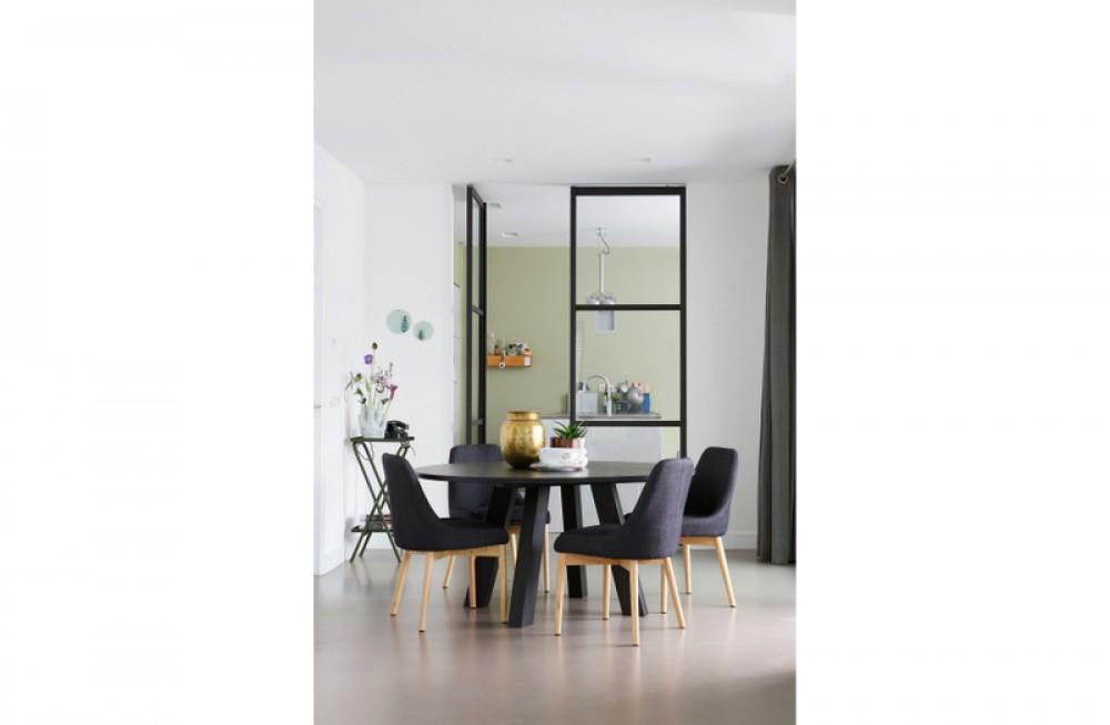 tisch rund anthrazit massivholz esstisch rund eiche massiv durchmesser 150 cm. Black Bedroom Furniture Sets. Home Design Ideas