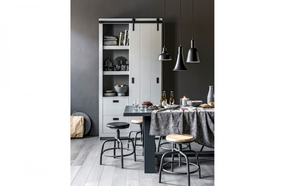 tisch anthrazit massivholz esstisch eiche massiv ma e 230x90 cm. Black Bedroom Furniture Sets. Home Design Ideas