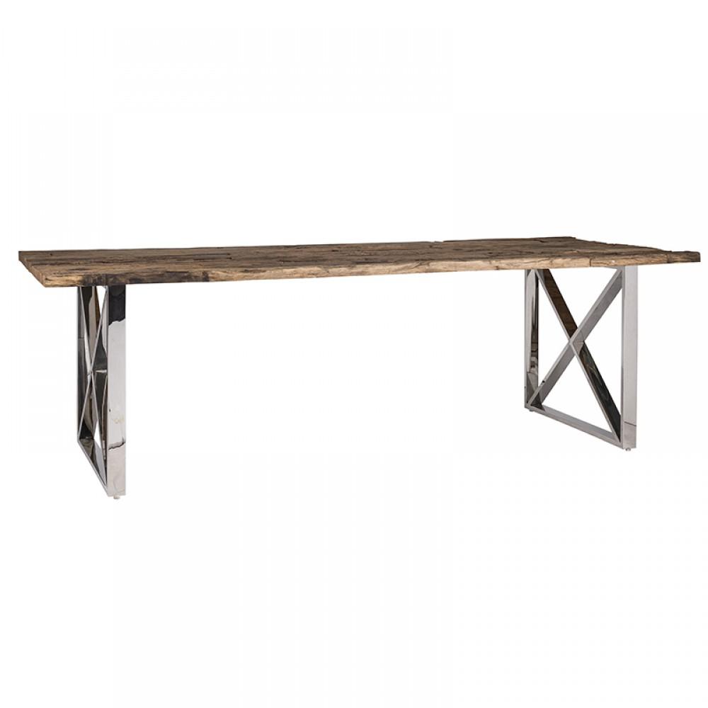 esstisch tischplatte aus altholz tisch im landhausstil. Black Bedroom Furniture Sets. Home Design Ideas