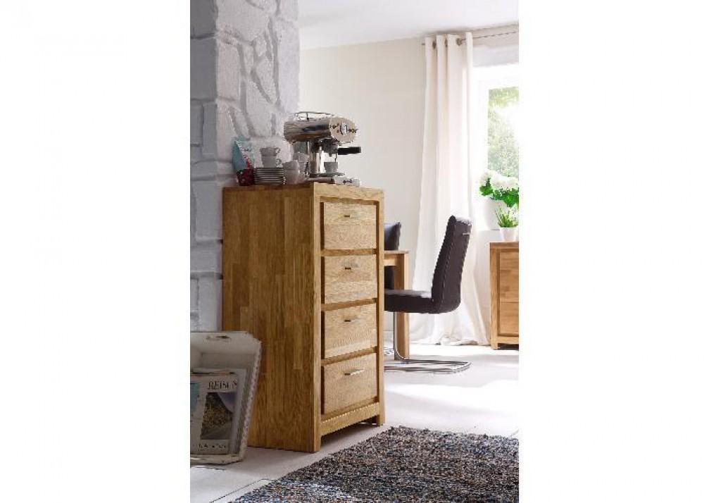 kommode massivholz asteiche schrank massiv ge lt breite 60 cm. Black Bedroom Furniture Sets. Home Design Ideas