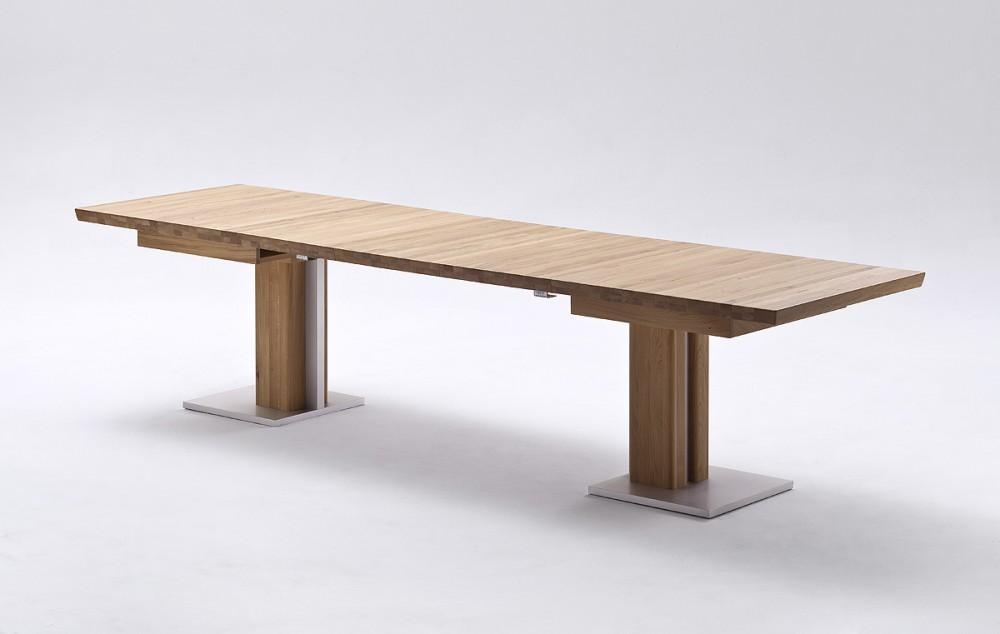 esstisch massivholz ausziehbar ausziehbarer tisch holz ma e 90 x 160 310 cm. Black Bedroom Furniture Sets. Home Design Ideas