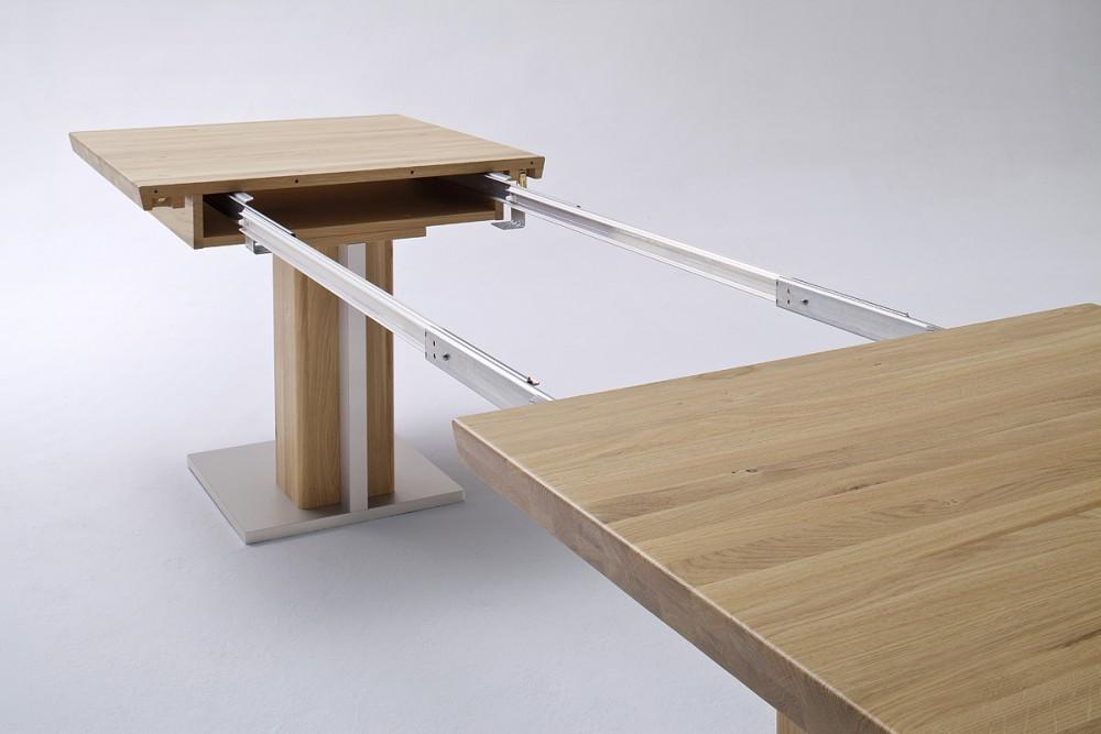Esstisch Massivholz Ausziehbar, Ausziehbarer Tisch Holz, Maße 90 X 160 310  Cm