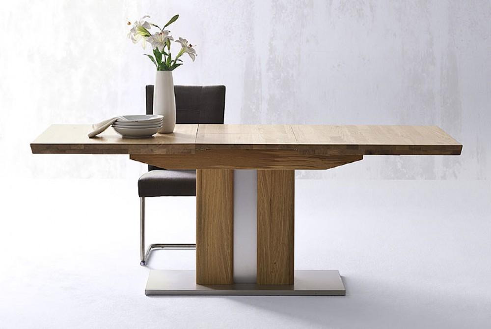 Esstisch Massivholz Ausziehbar, Ausziehbarer Tisch Holz, Maße 90 X 160 210  Cm