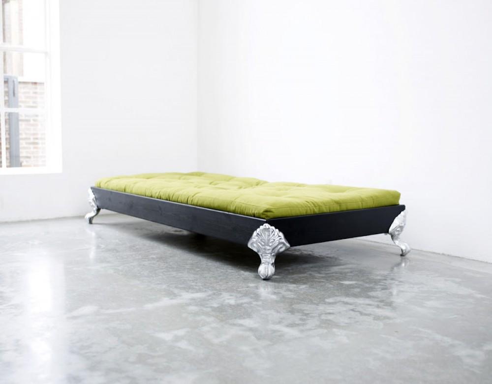 bett f r jugendzimmer bett mit einem design kopfteil gr e 148 x 208 cm. Black Bedroom Furniture Sets. Home Design Ideas