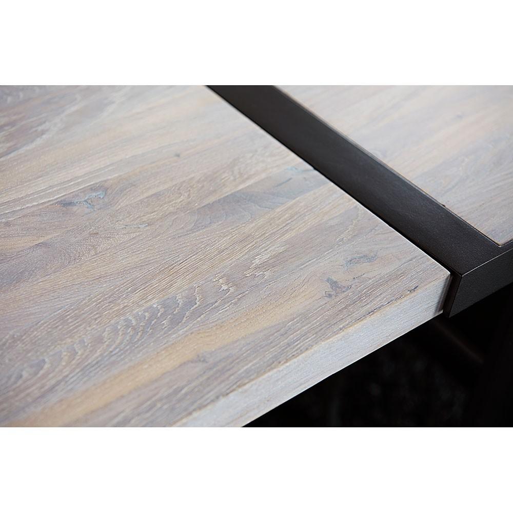 tisch eiche wei amazing designer esstisch wei massivholz. Black Bedroom Furniture Sets. Home Design Ideas