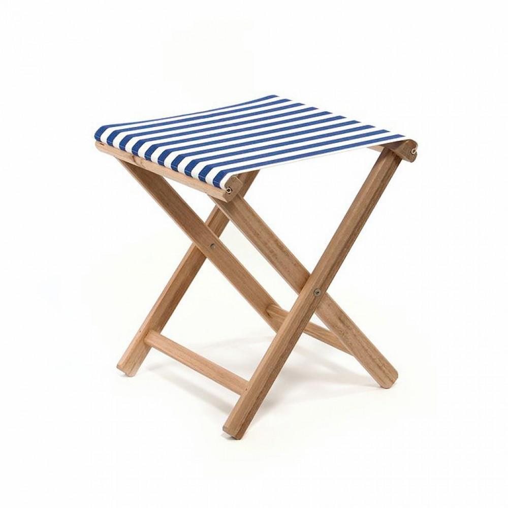 hocker aufklappbar hocker aus stoff und holz farbe blau wei. Black Bedroom Furniture Sets. Home Design Ideas