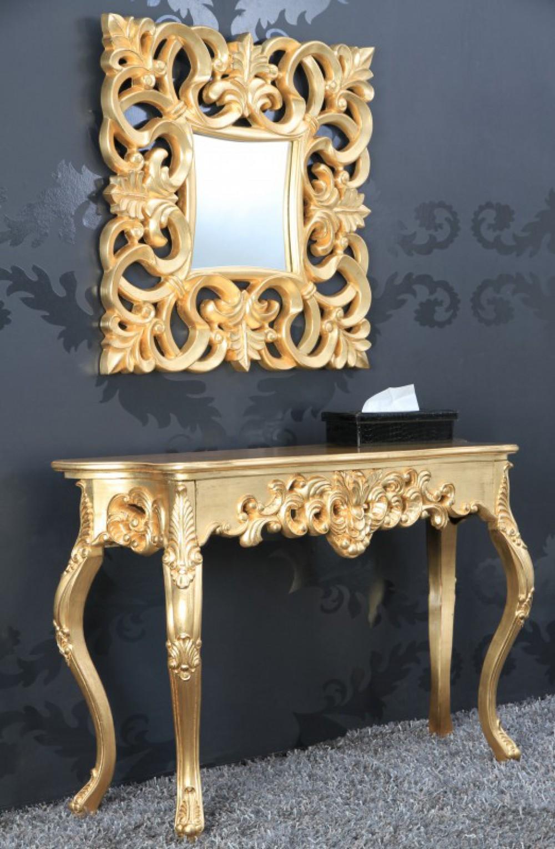 Sideboard modern barock gold for Wandspiegel barok