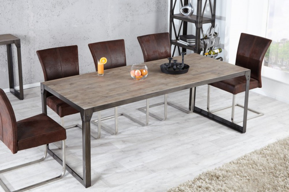 Esstisch Metall-Gestell, Tisch Im Industriedesign, Maße