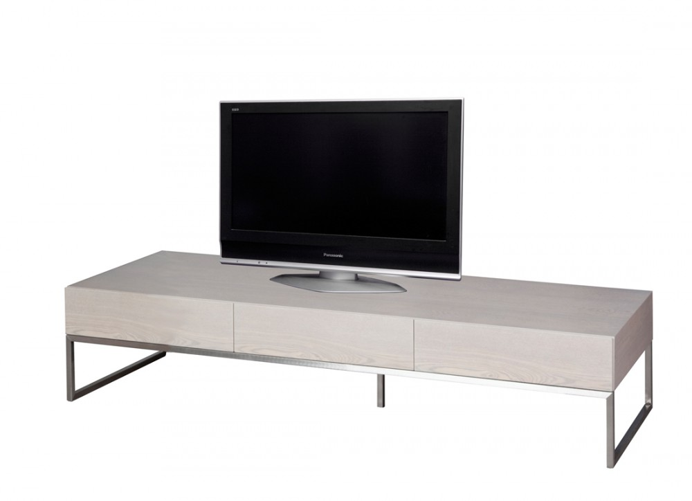 tv schrank grau lowboard beige grau mit drei t ren breite 180 cm. Black Bedroom Furniture Sets. Home Design Ideas