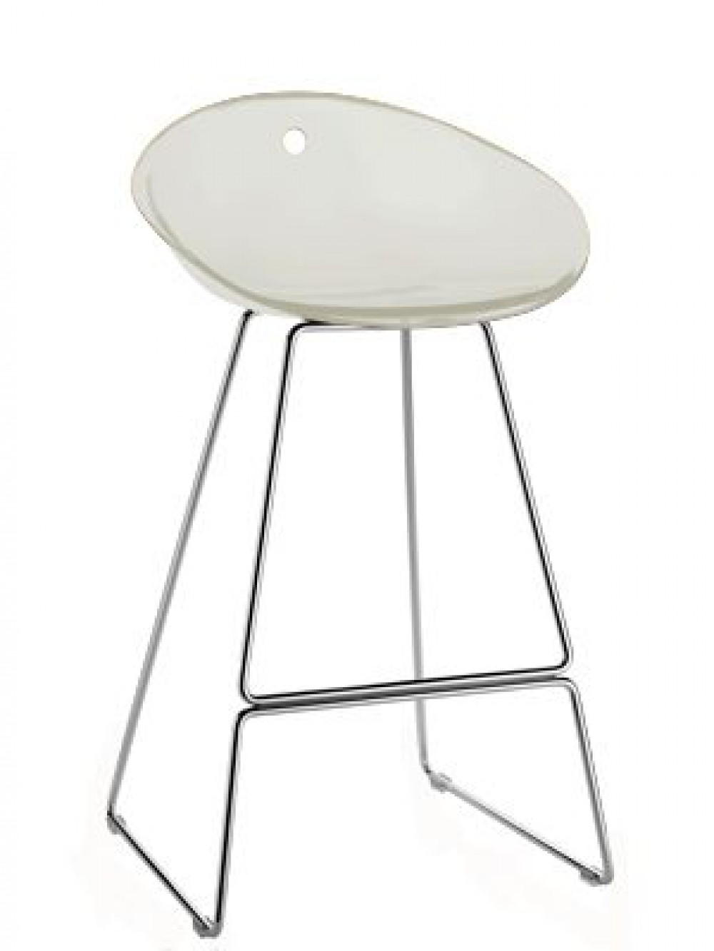 Design barhocker farbe weiss 65 cm sitzh he for Barhocker designer
