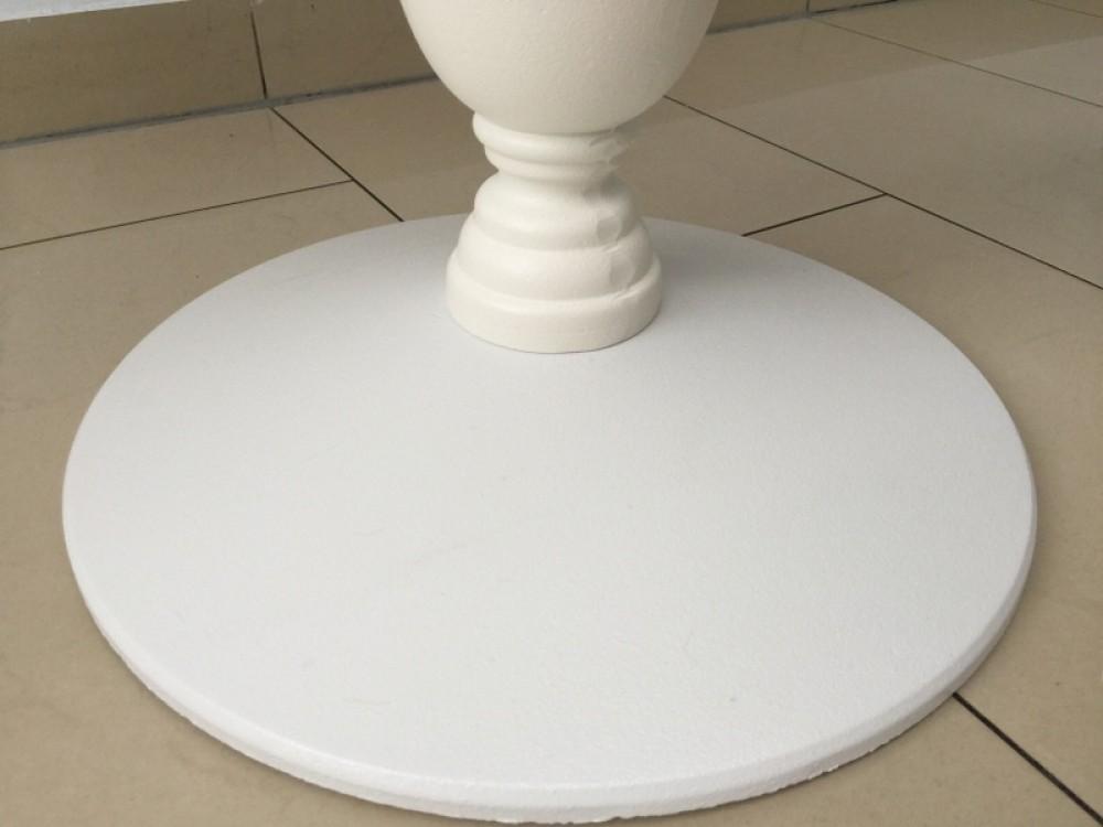 barocktisch wei tisch rund wei bistrotisch rund wei. Black Bedroom Furniture Sets. Home Design Ideas