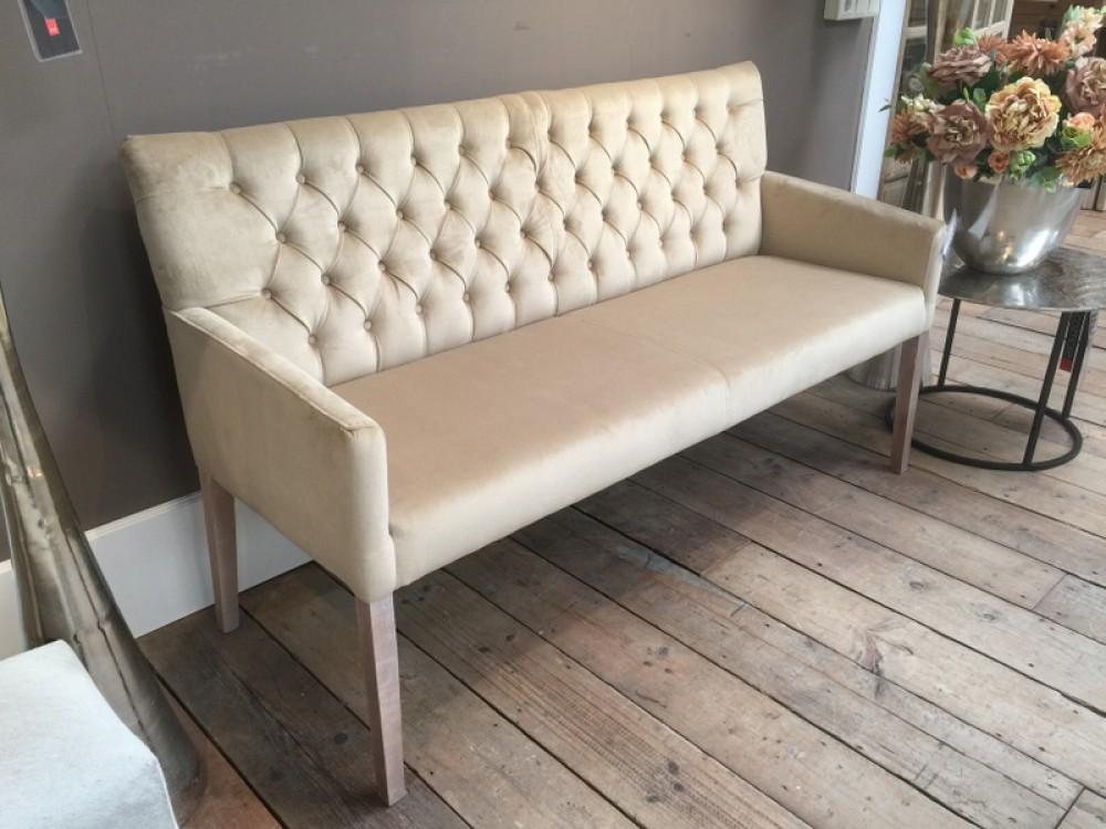 sitzbank gepolstert farbe gold bank gepolstert l nge 160 cm. Black Bedroom Furniture Sets. Home Design Ideas