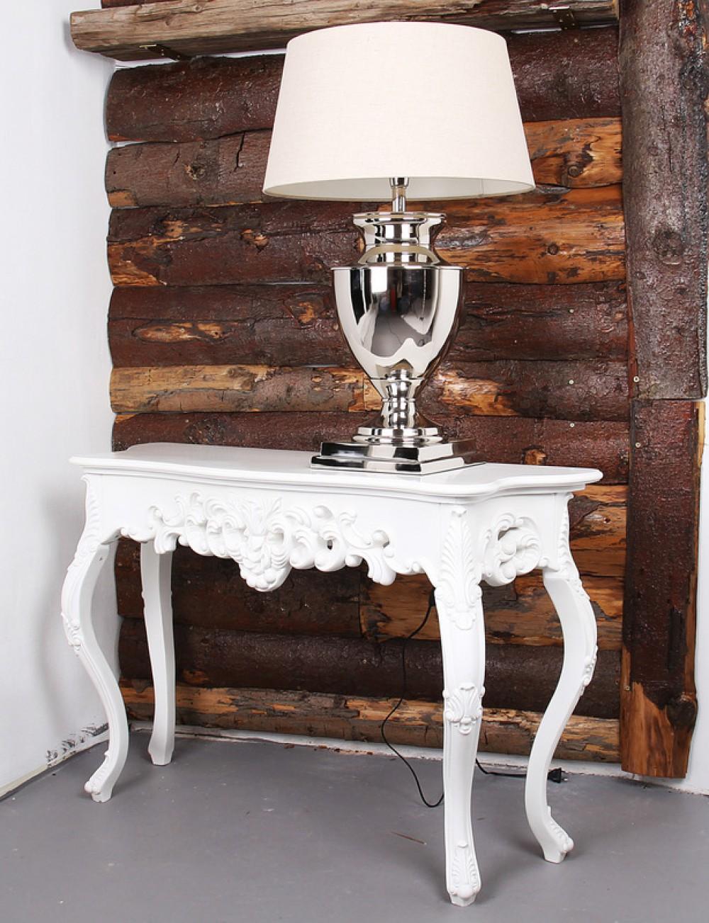 barock sideboard wandtisch wei. Black Bedroom Furniture Sets. Home Design Ideas