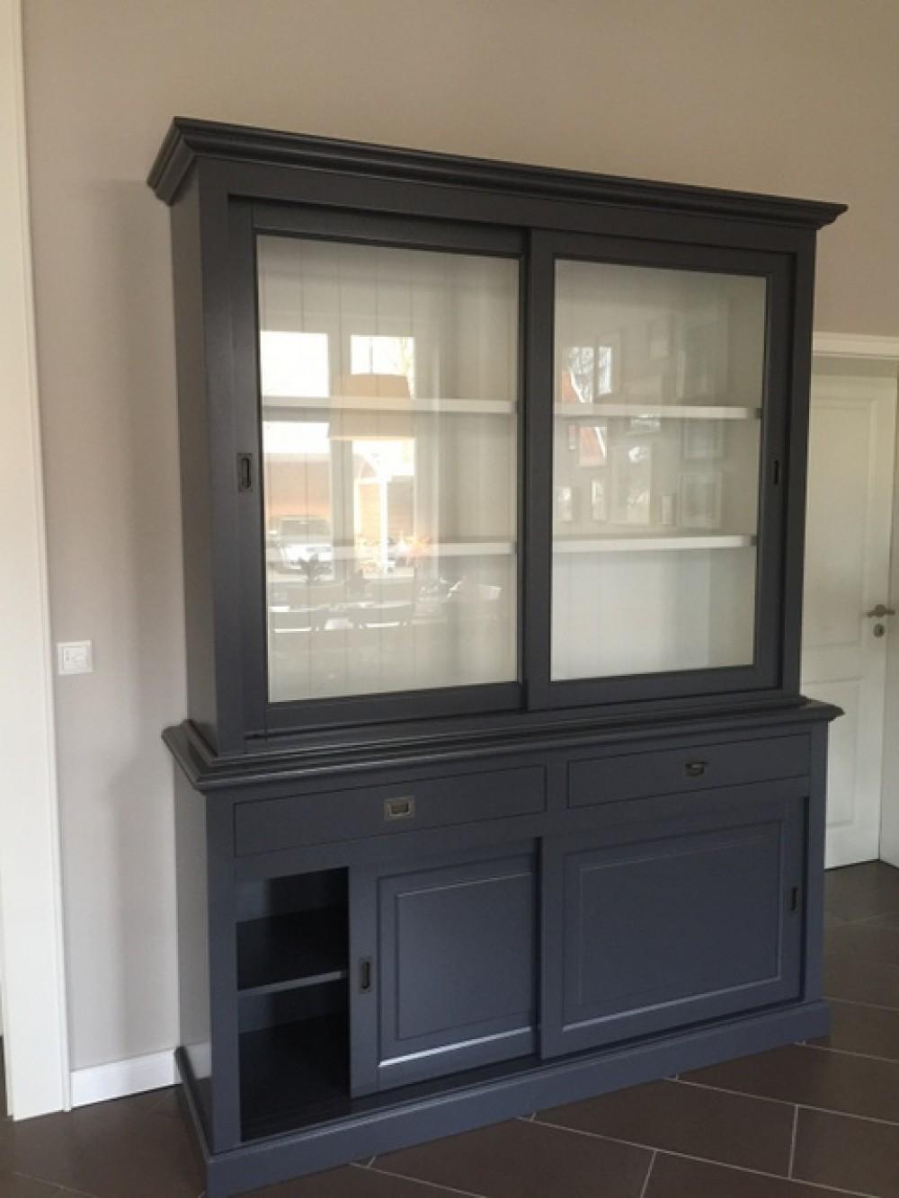 buffetschrank grau geschirrschrank grau schrank grau. Black Bedroom Furniture Sets. Home Design Ideas